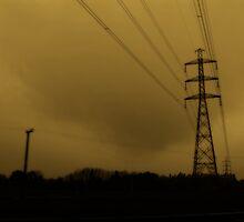 Sky of ill omen. by Lynne Haselden