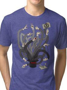Hands Tri-blend T-Shirt