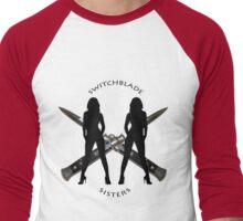 Switchblade Sisters Men's Baseball ¾ T-Shirt