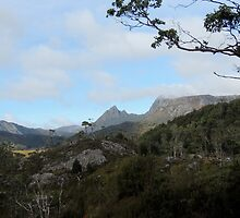 Towards Cradle, Cradle Mountain, Tasmania, Australia. by kaysharp