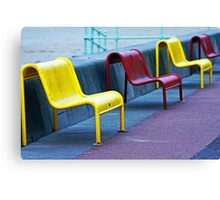 Sit in the Sunshine Canvas Print