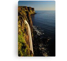 Mealt Falls & Kilt Rock, Isle of Skye Canvas Print