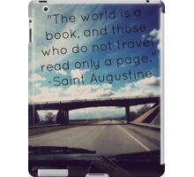 Travel the Pages iPad Case/Skin