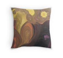 curves(abstract) Throw Pillow