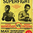 Manny Pacquiao Vs Floyd Mayweather by Pablo Mendoza