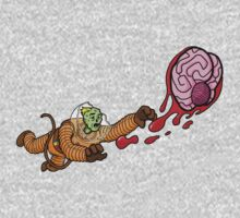 Astrozombie II: More Brains One Piece - Short Sleeve