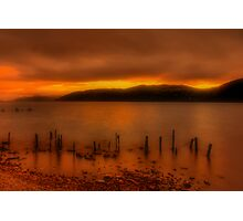 Soft Sunset over Loch Ness Photographic Print