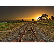 One way track Photographic Print