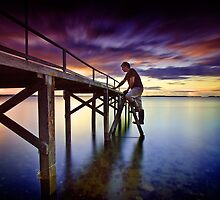 Jetty Under Repair by Tim  Geraghty-Groves