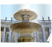 Fountain of Saint Peter Poster