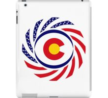 Coloradan Murican Patriot Flag Series iPad Case/Skin