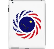 Alaskan Murican Patriot Flag Series iPad Case/Skin