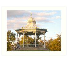 Rotunda - Elder Park, Adelaide. Art Print