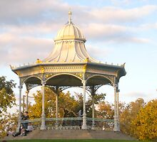 Rotunda - Elder Park, Adelaide. by Margaret Stanton