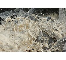 whipped cream or whipped sea  ? Photographic Print
