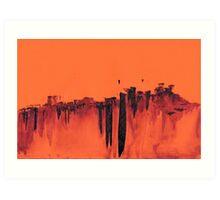 WDVT - 0005 - Skyline of the Floating City 2 Art Print