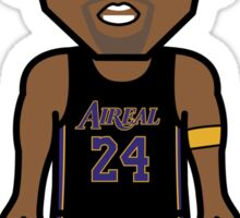 Angry Mamba Lakers Kobe by AiReal Apparel Sticker
