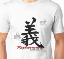 Righteousness Unisex T-Shirt