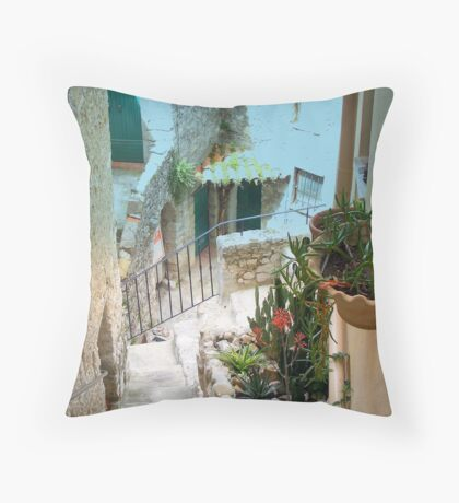 Lovely old houses Throw Pillow