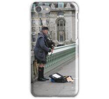 SCOTTISH BUSKER iPhone Case/Skin