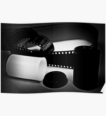 Black and White Film Poster