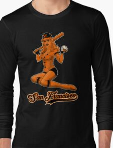 SF Giants Pin-Up Girl 2 Long Sleeve T-Shirt