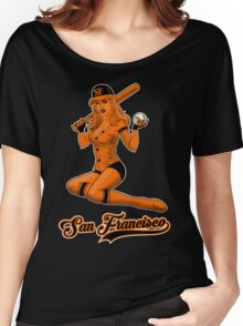SF Giants Pin-Up Girl 2 Women's Relaxed Fit T-Shirt