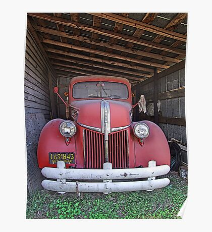 '41 Ford Truck Poster