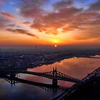 Budapest sunrise by sandgrouse