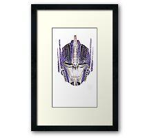 Optimus Batik Framed Print