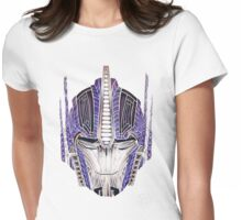 Optimus Batik Womens Fitted T-Shirt
