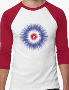 Peacock Men's Baseball ¾ T-Shirt