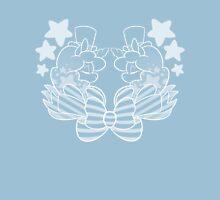 ALPACACORN-DUALCREST-WHITE Unisex T-Shirt