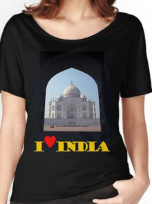 I love India Women's Relaxed Fit T-Shirt