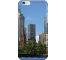 MY HOME TOWN - MELBOURNE iPhone Case/Skin