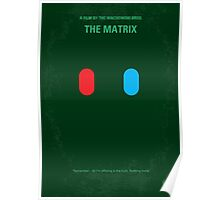 No117 My MATRIX minimal movie poster Poster