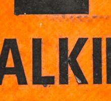 Walking Track Sticker