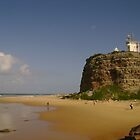Nobby&#x27;s Headland - Newcastle by reflector
