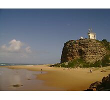 Nobby's Headland - Newcastle Photographic Print