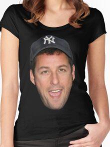 Adam Sandler's Face Women's Fitted Scoop T-Shirt