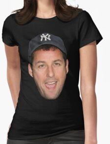 Adam Sandler's Face Womens Fitted T-Shirt