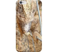 Chameleon Walking on A Wire iPhone Case/Skin