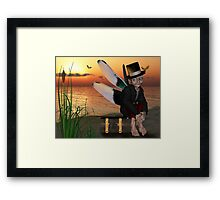 Bumble the Brownie Framed Print