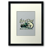 Highway Patrol v2 Framed Print