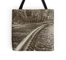 Commuter view Tote Bag