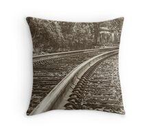 Commuter view Throw Pillow