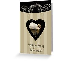 Will you be my bridesmaid general from the set of cards Greeting Card