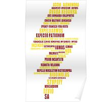 the most famous scar(gryffindor colors) Poster