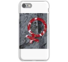 Fem1-Red Conga (small) iPhone Case/Skin