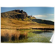 Old Man of Storr , Isle of Skye Poster